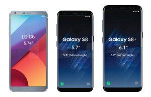 Sự xuất hiện của hai phiên bản LG G6 và Samsung Galaxy S8 thực sự đã tạo nên một làn sóng công nghệ trong đầu năm 2017