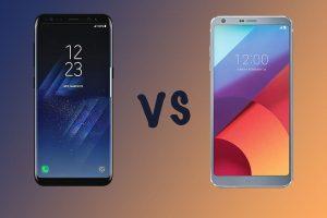 Samsung Galaxy S8 và LG G6 được cho là hai smartphone Android cao cấp bậc nhất trong năm 2017