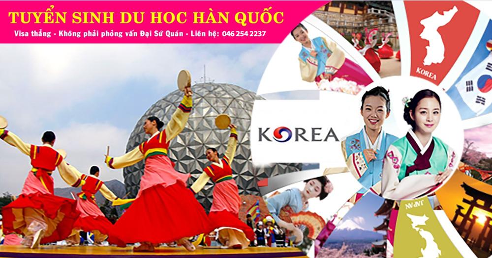 Visa thẳng Du học Hàn Quốc