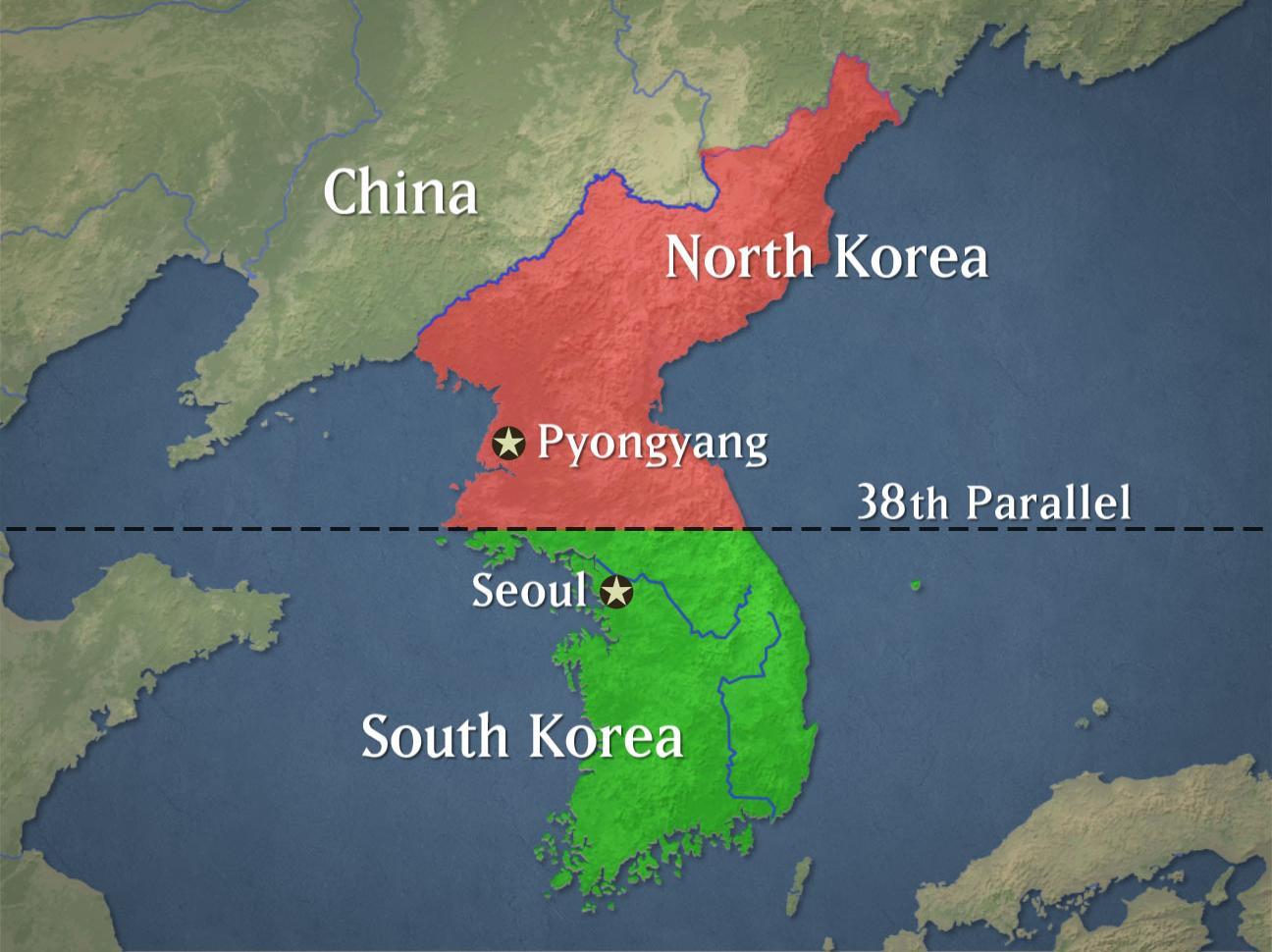 Sự khác biệt giữa Hàn Quốc và Triều Tiên