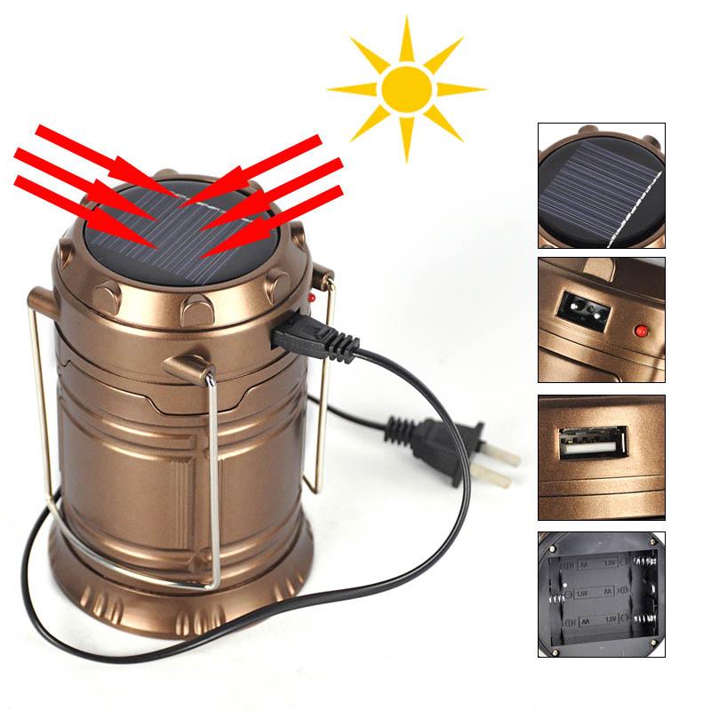 Đèn Led năng lượng mặt trời 3 trong 1 tiện dụng