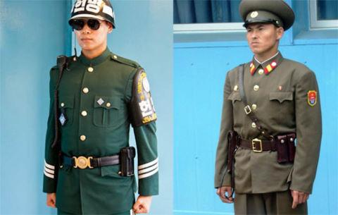 Sự khác biệt trong phong cách quân sự Hàn Quốc