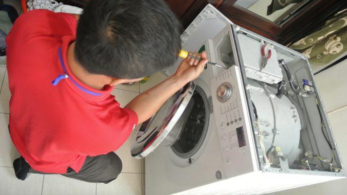 Sửa chữa máy giặt công nghiệp cũ