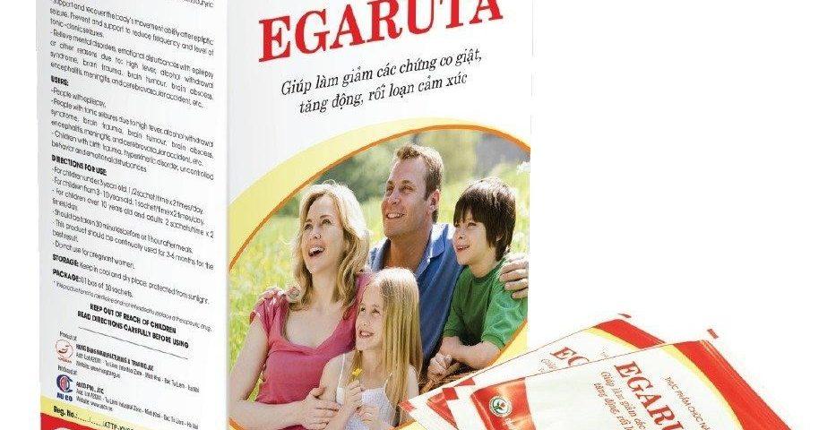Thực phẩm chức năng Egaruta dùng chung được với những loại thuốc Tây y điều trị động kinh