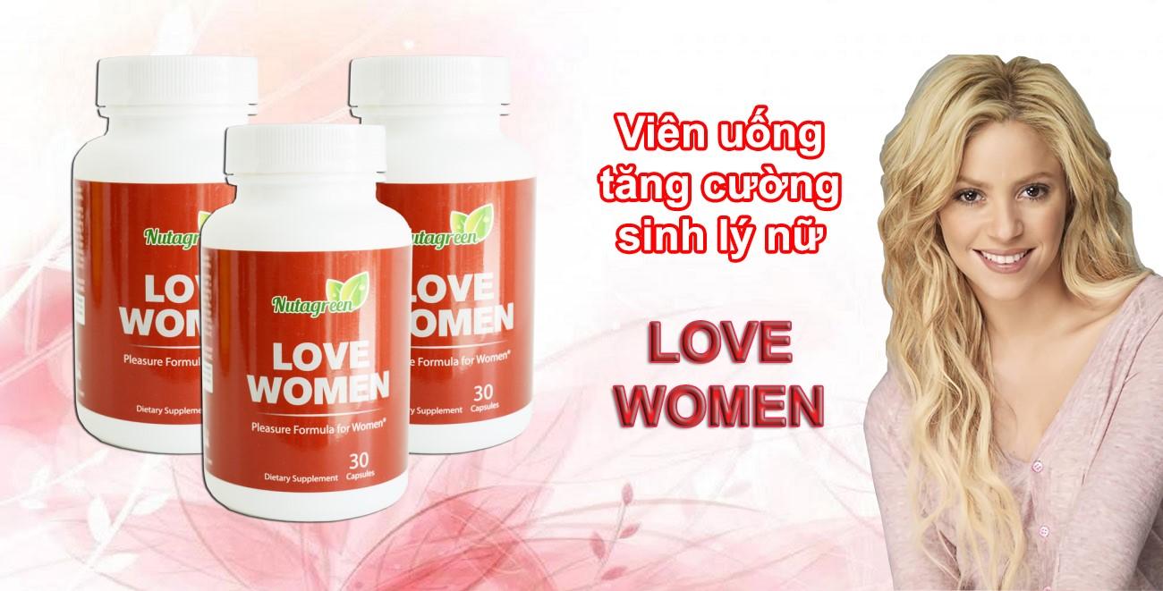 Thực phẩm chức năng Love Women tăng cường sinh lý nữ