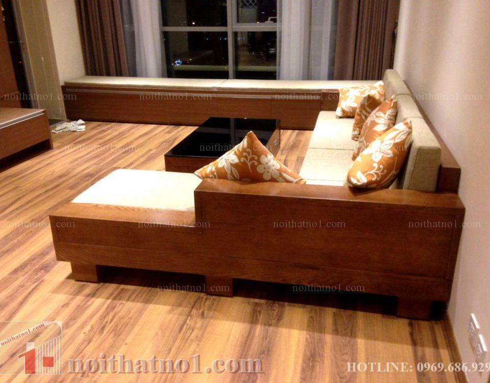 Mẫu bàn ghế gỗ chung cư đẹp