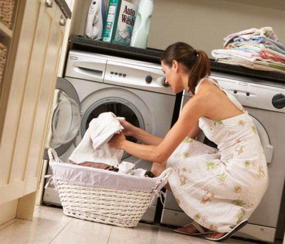 Việc giặt giũ sẽ tiện nghi hơn với máy giặt kèm máy sấy