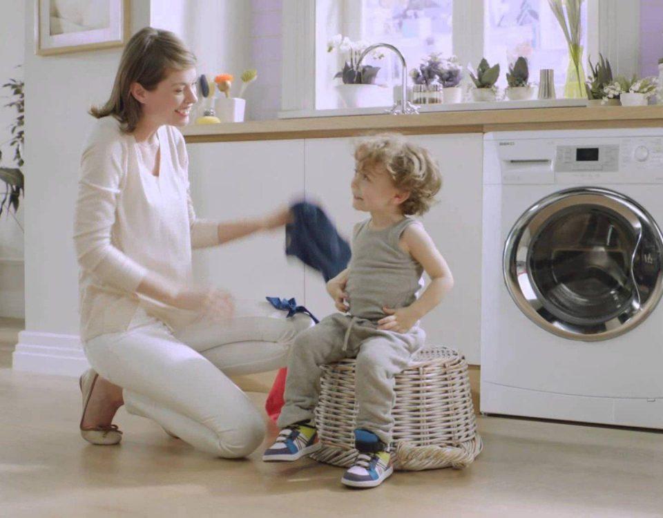 Ưu điểm mang lại từ một chiếc máy giặt sấy