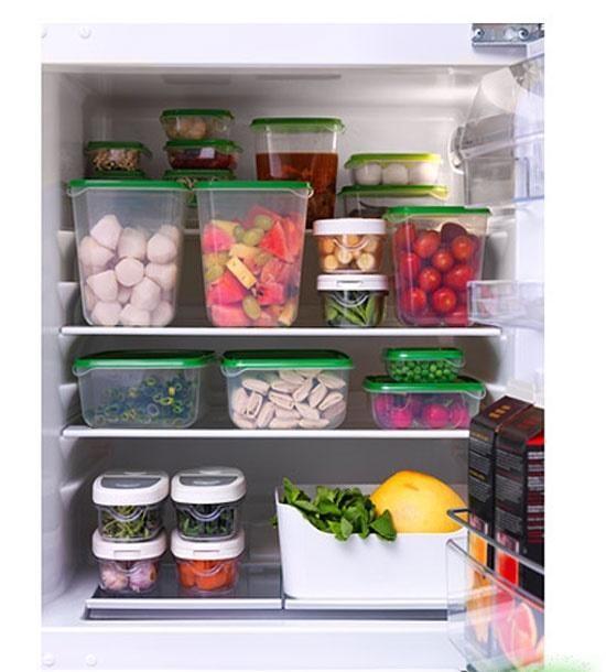 Bảo quản thực phẩm trong tủ lạnh cũng cần phải biết cách làm