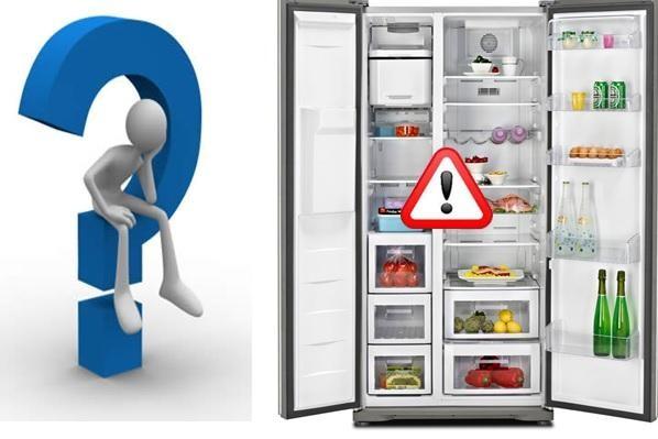 Các lỗi thường gặp ở tủ lạnh Panasonic