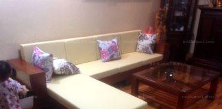 bàn ghế phòng khách ấn tượng