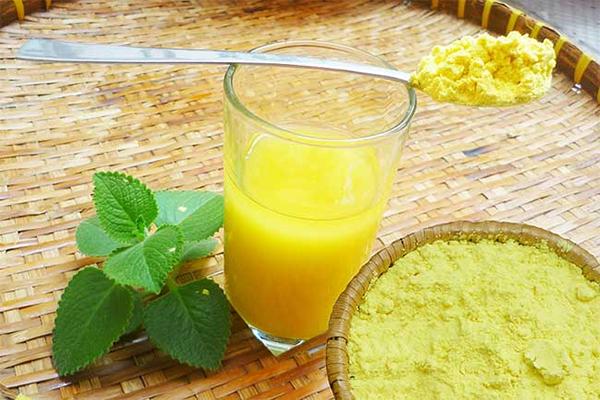 Bạn đã biết uống tinh bột nghệ đúng cách?