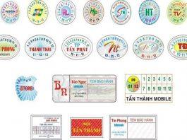 Ứng dụng và lợi ích của việc in tem bảo hành tại quận Hà Đông