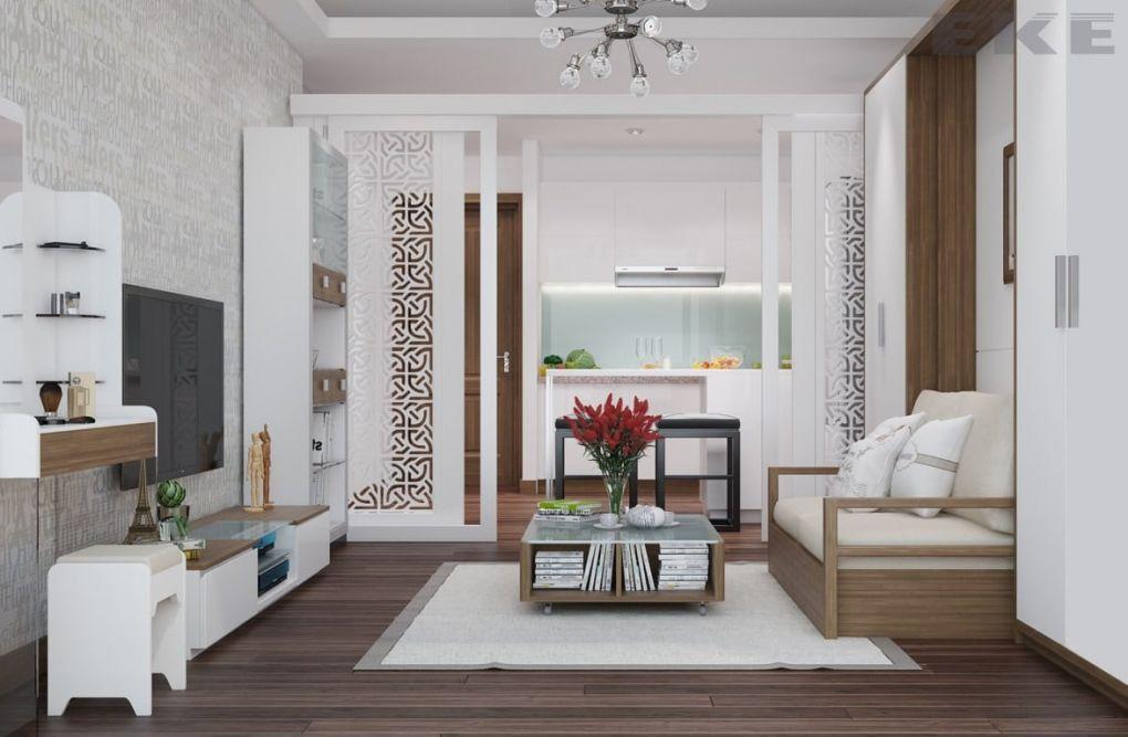 Nhà nhỏ hẹp với nội thất đa năng tiện nghi