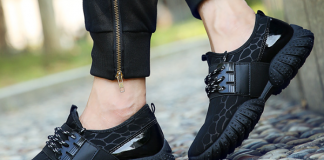 Chọn giày thể thao nam mùa hè