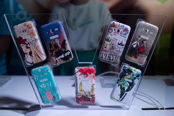 Thị trường ốp điện thoại đa dạng mẫu mã, phong cách