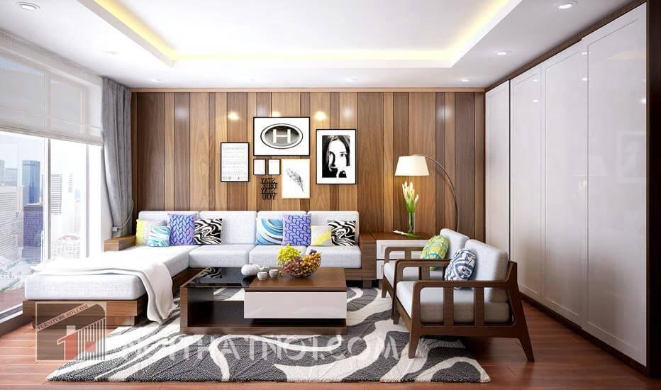 Giá bàn ghế phòng khách chung cư rẻ