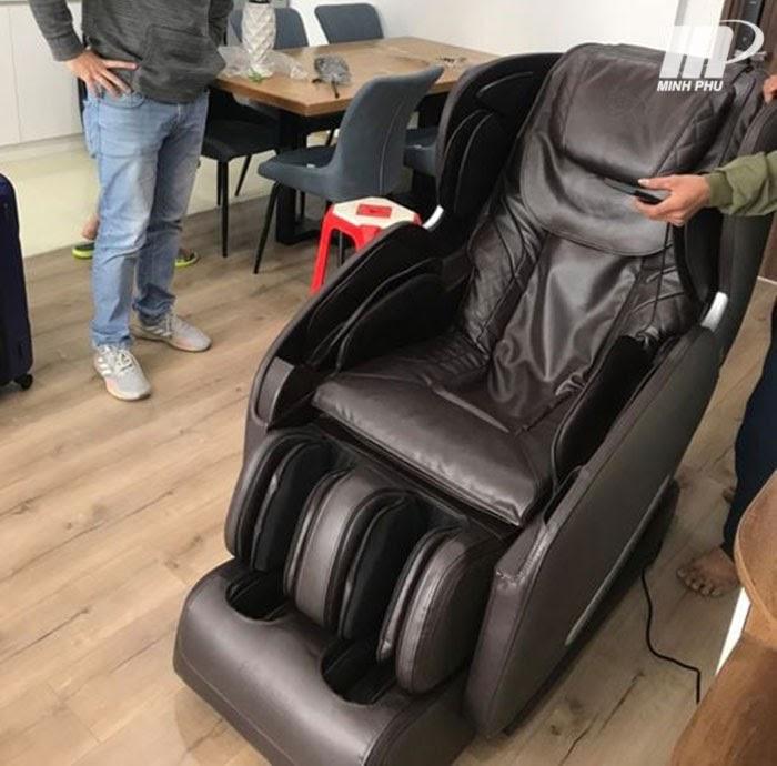 Ghế massage phục vụ cho quá trình chăm sóc sức khỏe