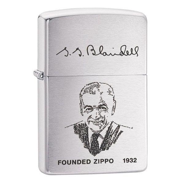 Zippo La Mã khắc chữ ký ông tổ Zippo 1932